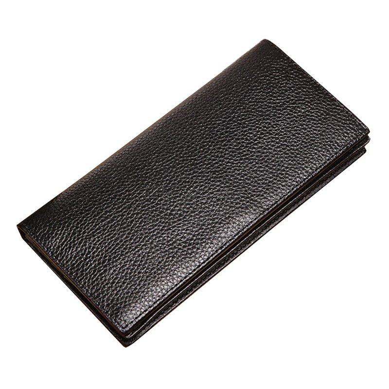 New Arrival Men Wallets Long Genuine Leather Brand Male Big Capacity Purse Wallet Men First Layer Cowhide Man Thin Clutches Bag big size 46 summer breathable mesh loafers men casual shoes genuine leather slip on brand fashion flat shoes soft comfort cool