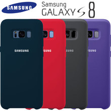 Samsung S8 чехол оригинальный Высокое качество мягкий силиконовый защитный чехол samsung Galaxy S8 плюс Чехол Galaxy S8 S8 + кремния задняя крышка