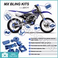 2009 2010 2011 2012 2013 BLUE CNC New MX Motocross Offroad Bling Kits Kit for Yamaha YZ-F YZF 250 YZ450F 09 10 11 12 13