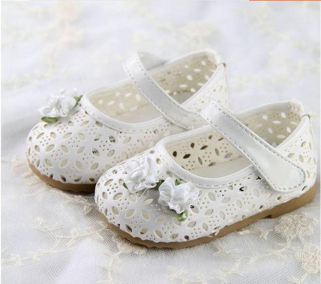 2016 девочки впервые уокер детские обувь одного мода вырез малышей летняя обувь мягкая подошва принцесса обувь