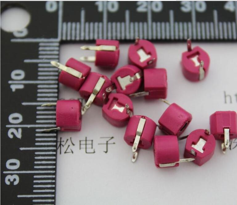 20PCS/LOT  20P Adjustable Capacitance Trimmer Variable Capacitor Plastic 6mm JML06-1-20P