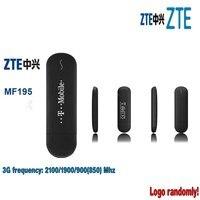 ZTE MF195 desbloqueado 3G GSM 21 Mbps USB Modem de Banda Larga Móvel