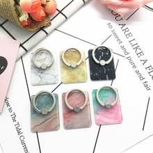 Finger Ring Mobile Phone Smartphone Stand Holder For iPhone X 8 7 6 6S Smart IPAD MP3 Marble Mount Samsung