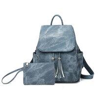 6288db2834e6a ... Leather Backpacks Teenage Girls Small School Bags Women High Quality  Casual Rucksack. US $39.00 US $19.50. Trendy Kadın PU Deri Sırt Çantaları  Genç Kız ...