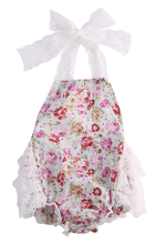 Cute Toddler Baby Girl Sleeveless Lace Flower Romper Jumpsuit Sunsuit Floral Summer Outfits 0-24M AU