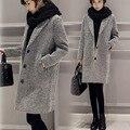 Nuevo Otoño Invierno de las mujeres chaqueta de Abrigo chaqueta de la Ropa de Maternidad de Maternidad prendas De Maternidad trinchera abrigo Embarazada 16924