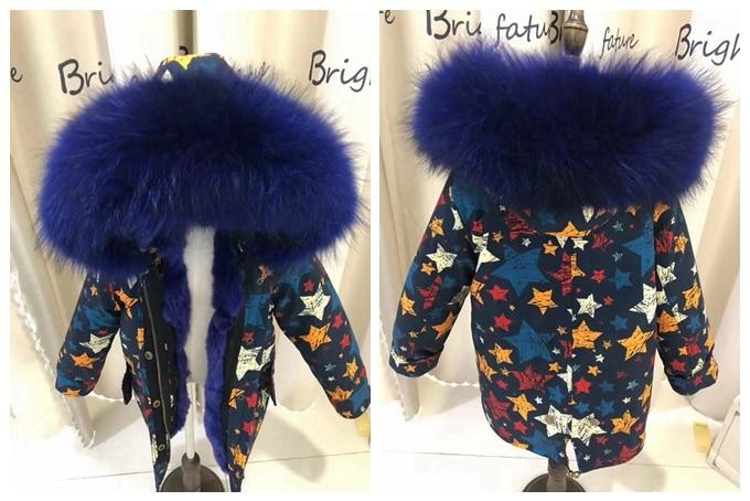 child winter real fur parkas coat (15)