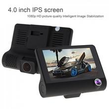 4.0 Inch IPS Screen Full HD 1080P Car Recorder DVR Dash Camera G-Sensor Cyclic Recording with Night Vishion