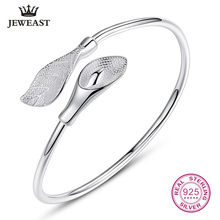 Flower 100% 990 Sterling Silver Bracelet Real Solid Bangle Fine Jewelry Hot Selling Generous Trendy Party 2017 New Good