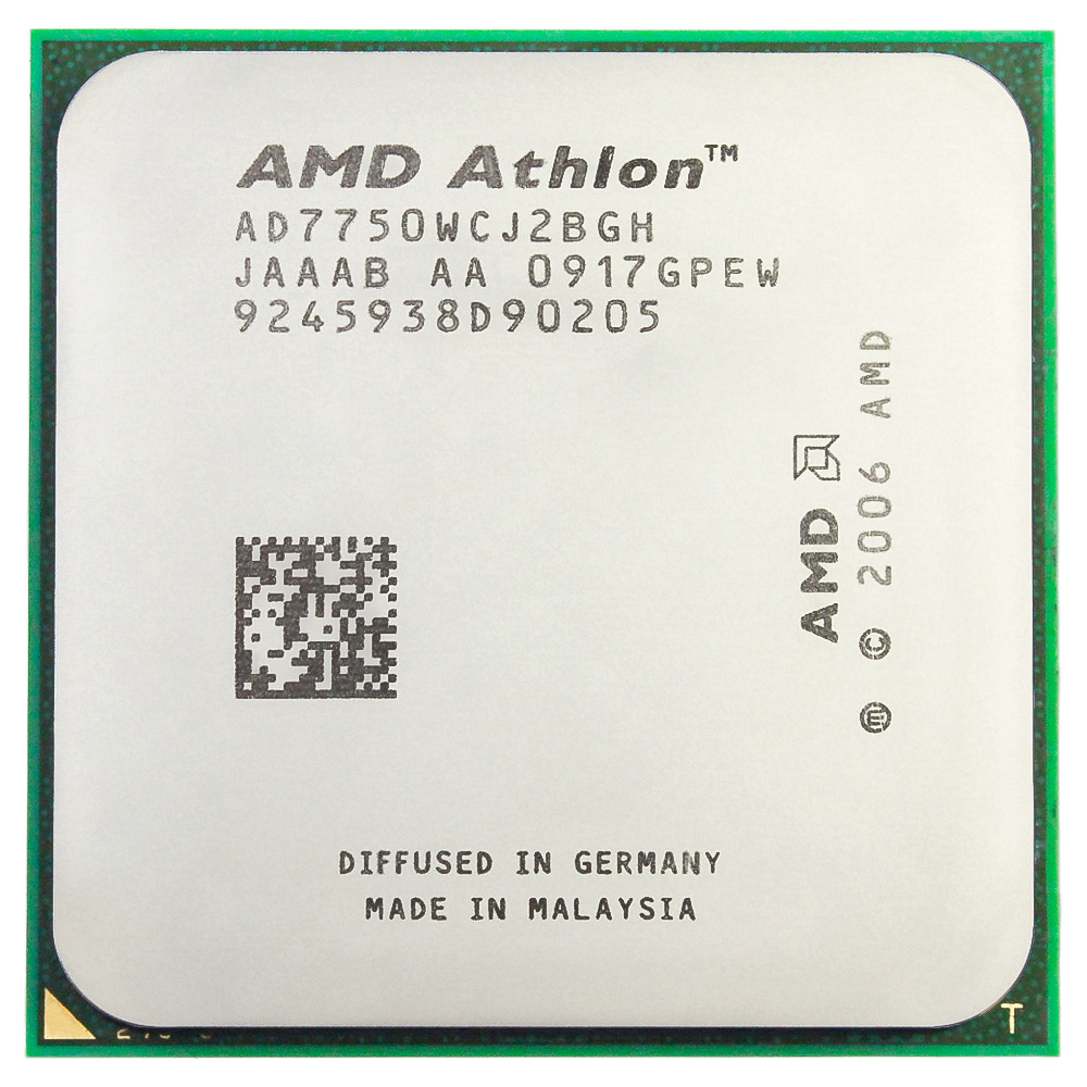 AMD Athlon 64X2 7750 Processador Dual Core 2.7GHz Soquete AM2/AM2 + 940-pin cpu