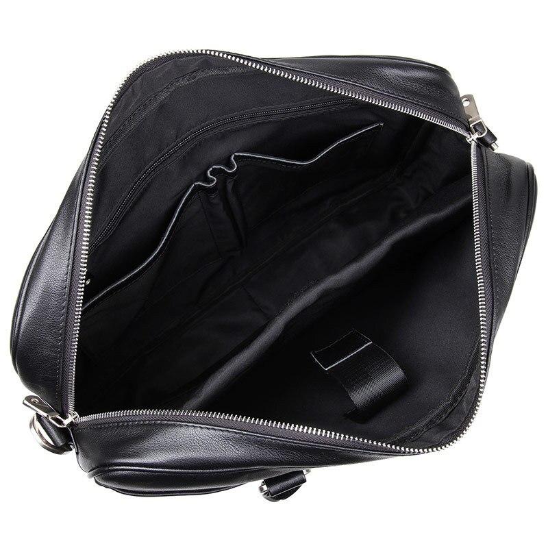 HTB1peKgsKOSBuNjy0Fdq6zDnVXaA Nesitu Black Brown Genuine Leather Office Men Briefcase Messenger Bags Real Skin Business Travel Bag 14'' Laptop Portfolio M7349