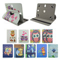 360 Rotatable PU Leather Stand Case Cover For ASUS Google Nexus 7.0 inch Universal Tablet Accessories