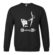 Breaking Bad print 2017 spring winter men's sportswear new hoodie O-neck fleece sweatshirt casual fashion hoody harajuku
