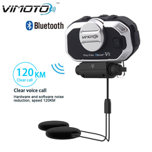 Easy Rider vimoto V8 850mAh Helmet Bluetooth Headset Motorcycle Stereo Headphones For Mobile Phone and GPS Way Radios