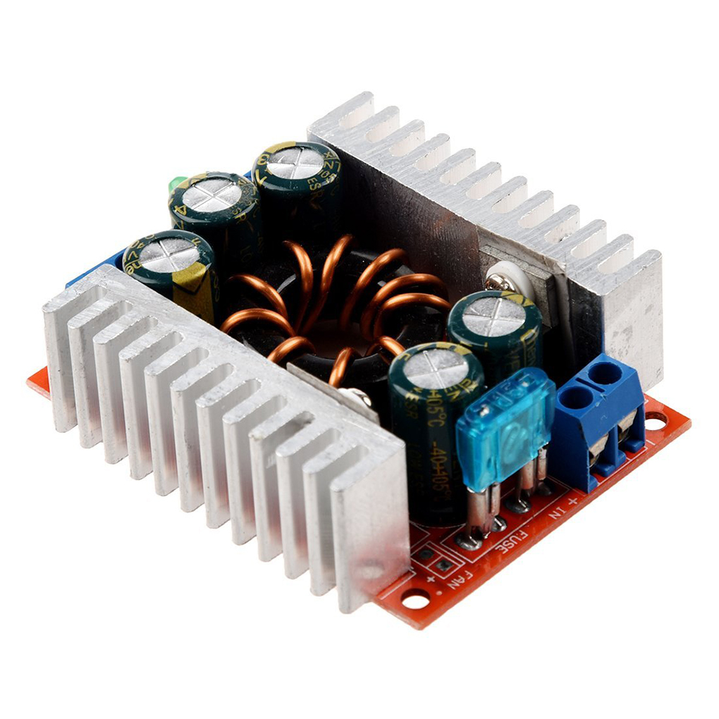 DC-DC High Power Low Ripple 15A Adjustable Step-down Module 98% High Efficiency Vehicle-mounted Voltage Power Buck Converter