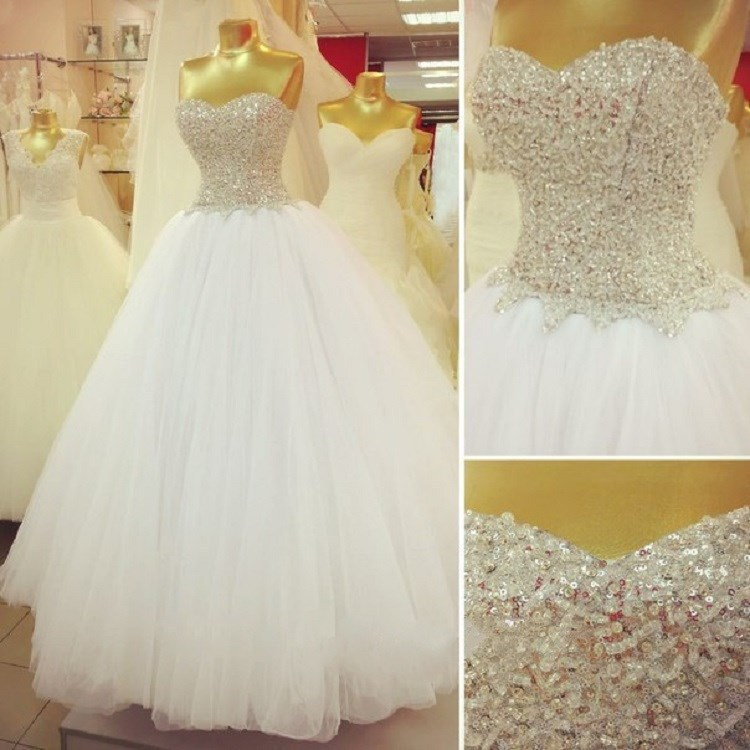Vintage Ball Gown Wedding Dress Vestido De Noiva
