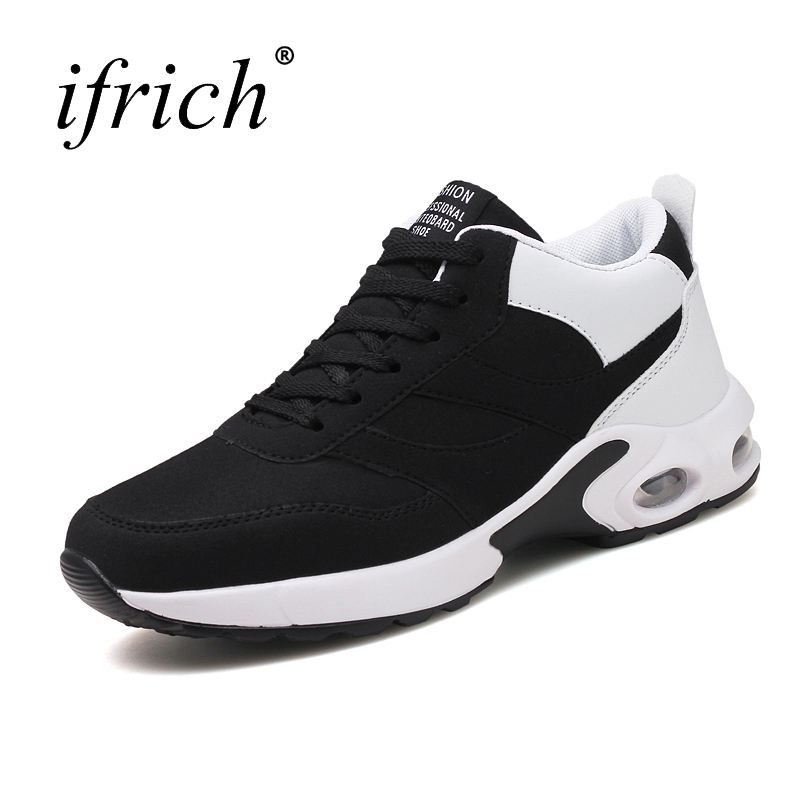 New Running Shoes Men Training Sneakers Air Cushion Walking Jogging Shoes Comfortable Athletic Sport Shoes Cheap Mens Trainers