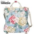 2016 Novas Mulheres Da Moda Flores de Impressão sacos de Lona bolsa de Viagem Ocasional bolsa de Ombro Fêmea Bolsas Femininas Tote do vintage bolsas Para adolescentes