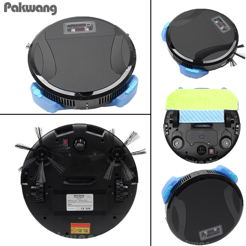 2018 PAKWANG 330C Robot Vacuum Cleaner With Self-Charge Wet And Dry Smart WiFi APP Remote Control Wireless Vacuum Cleaner smart phone wifi app remote control wet