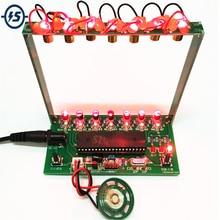 DIY Kit C51 MCU Laser Harp Kit String DIY Keyboard Kit Elect