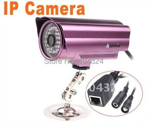 Apexis Wired Security IP CCTV Camera Webcam Web Camera Nightvision, Free shipping, Wholesale/Retail