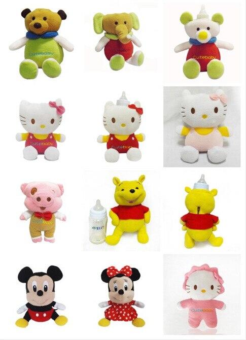 Couverture d'isolation de tasses de souris de Mickey Minnie de bande dessinée pour la couverture de bouteille de bébé pour le cadeau de maman
