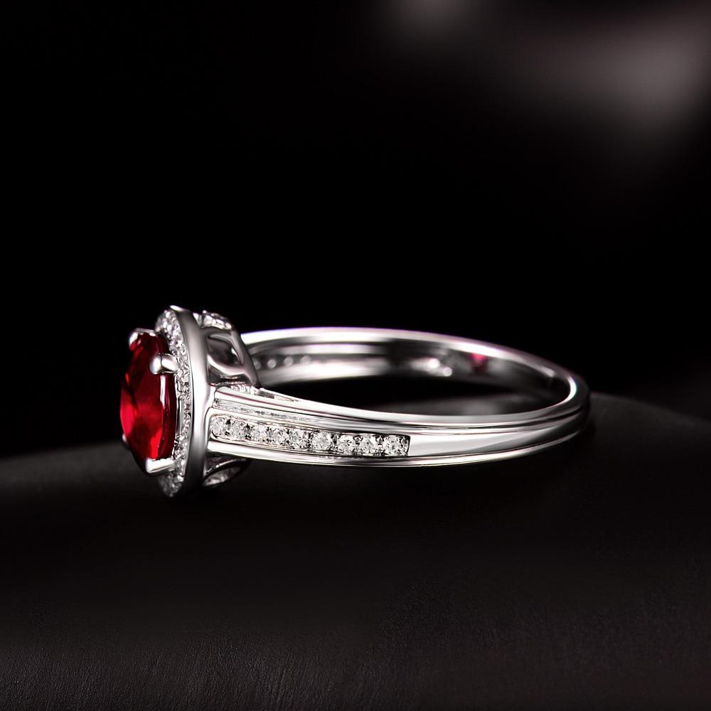 Իրական 14K սպիտակ ոսկու բնական կլոր - Նուրբ զարդեր - Լուսանկար 4