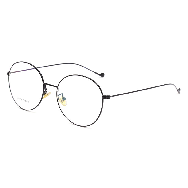 Vintage Style Women Men Popular Round Metal Clear Lens Glasses Frame Trendy Unisex Anti radiation Spectacles Frame X2023 Glasses in Men 39 s Eyewear Frames from Apparel Accessories