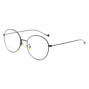 Image 5 - Vintage Style Women/Men Popular Round Metal Clear Lens Glasses Frame Trendy Unisex Anti radiation Spectacles Frame X2023 Glasses