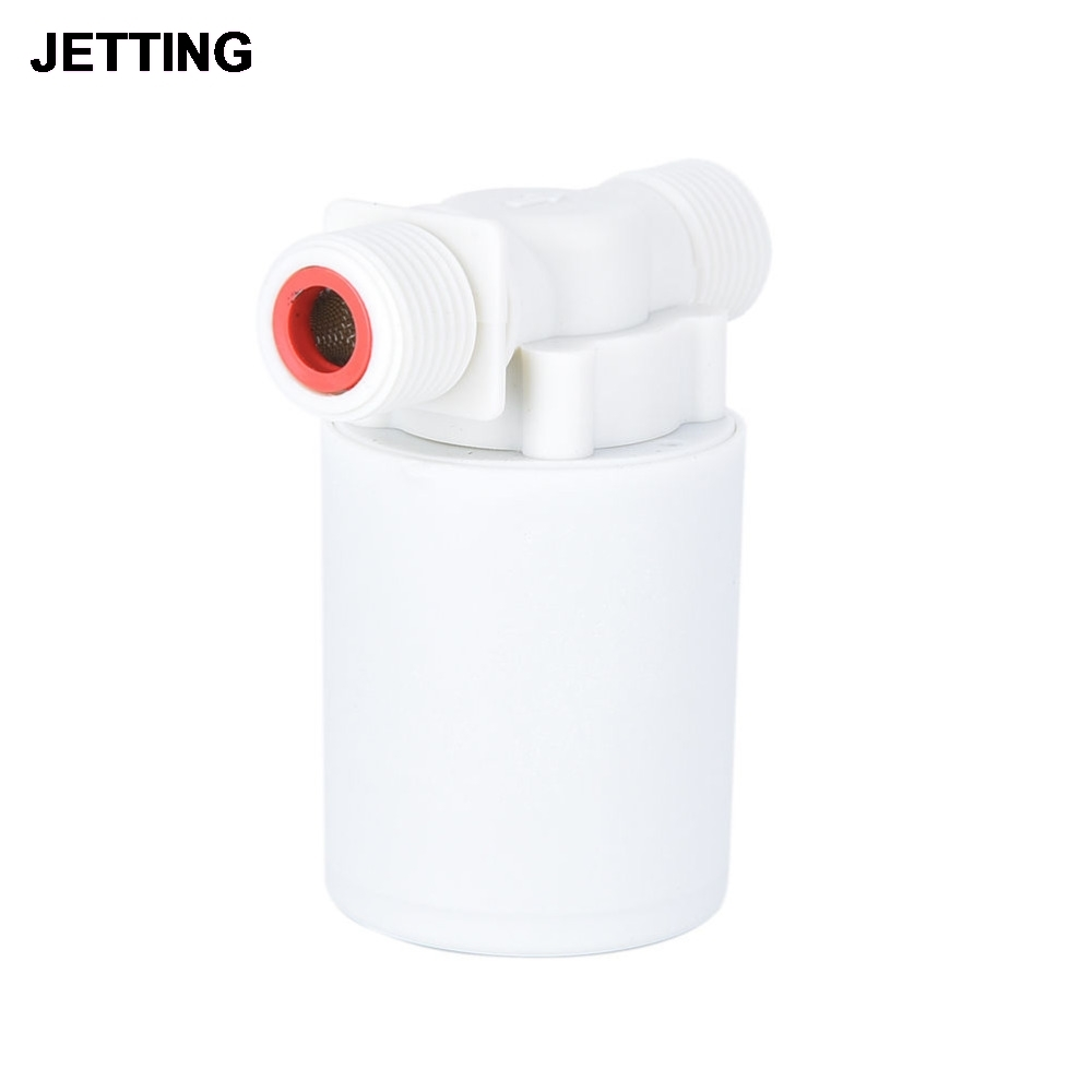 1PC Floating Ball Valve Automatic Float Valve Water Level Control Valve F/ Water Tank Water Tower High Quality free shipping 3 4 outside mounted automatic float valve water level control valve for solar water tank tower pool