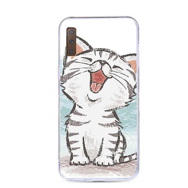 Samsung Galaxy A7 2018 A5 2017 J5 A5 A3 J3 2016 kılıf Minnie TPU kapak Samsung S8 S9 artı A30 A50 S10 Lite artı S10 kılıfı