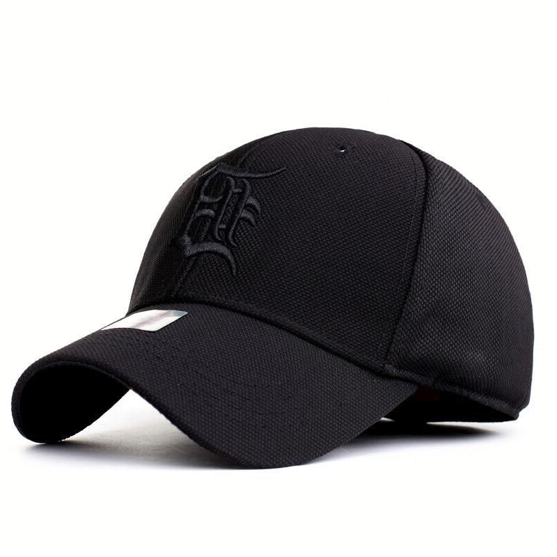 2017 new Free Shipping High Quality Spandex Elastic Outdoor   Baseball     Cap   Shade Male Hat, snapback Men & Women Fully Closed
