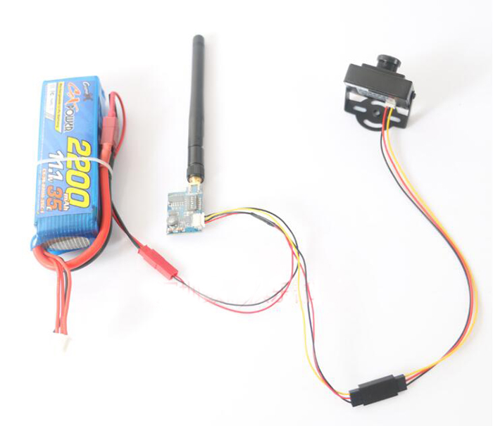 5.8g image transmission transmitter video output line signal wire FPV launch map transmission AV cable for TS5823 TS5828 TS5858