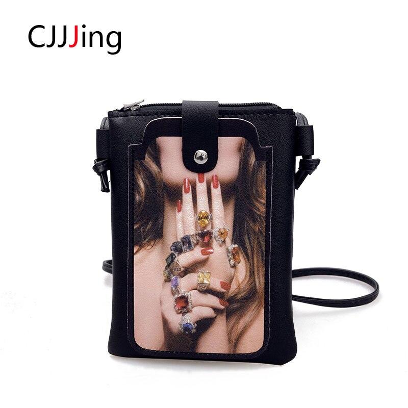 f8db2c068cc0 Teléfono bolsas mujer bolsas bolsos moda hombro crossbody bolsa de las  mujeres mensajero bolso ocasional cjjjing
