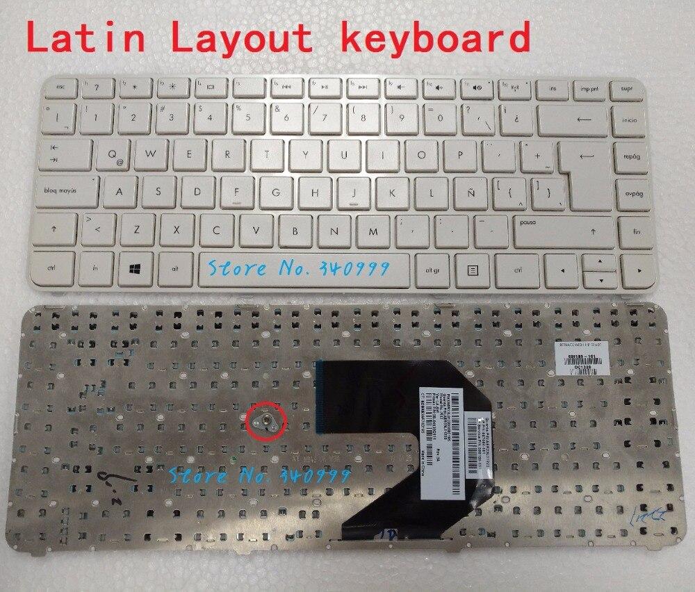 Free Shipping Latin New Keyboard For HP Pavilion G4-2000 G4-2100 G4-2200 G4-2300 Latin Spanish Teclado Frame