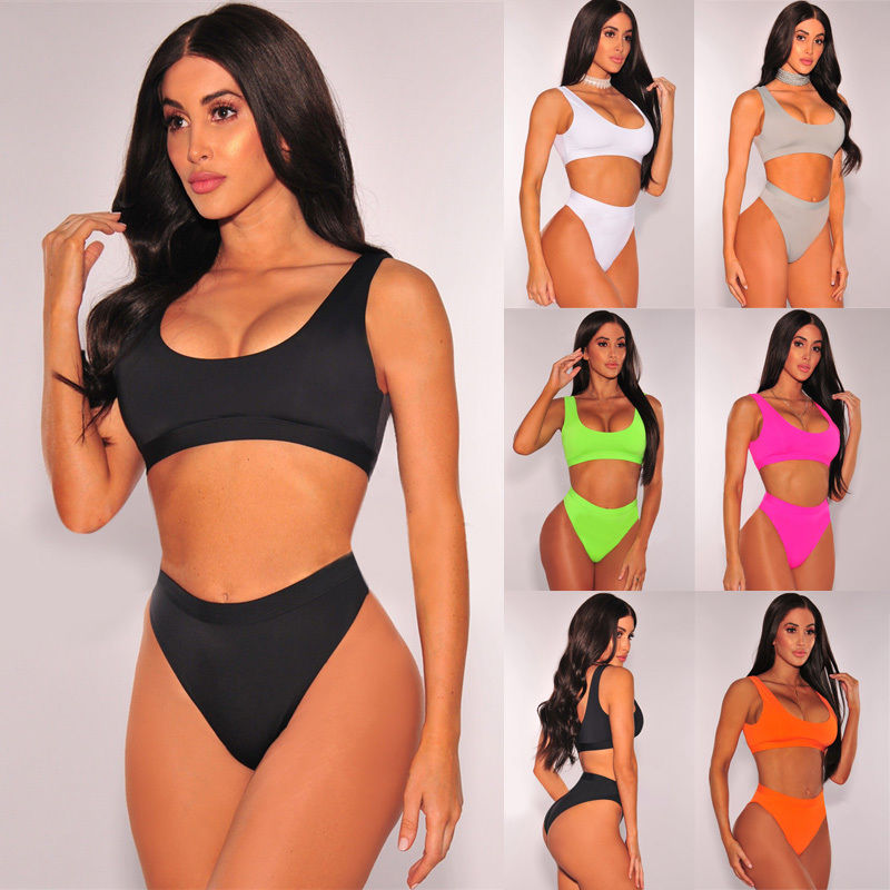 a5b0a81cdc95a Buy biknis high waisted and get free shipping on AliExpress.com