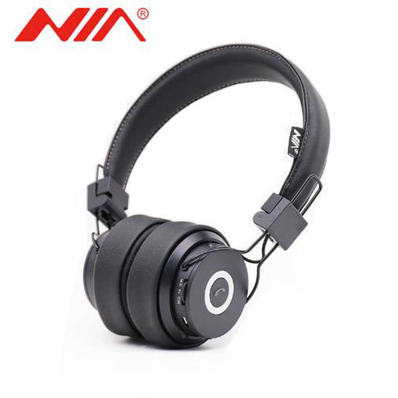 Nia X6 Wireless Bluetooth Headphones With Mic Stereo Bluetooth Headset Support Tf Card Fm Radio Sport Earphone Aliexpress