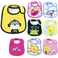 2017New 1Piece Baby Cotton Bib Infant Cartoon Waterproof Saliva Towel High Quality Children Burp Cloth Carter Bandana latzchen