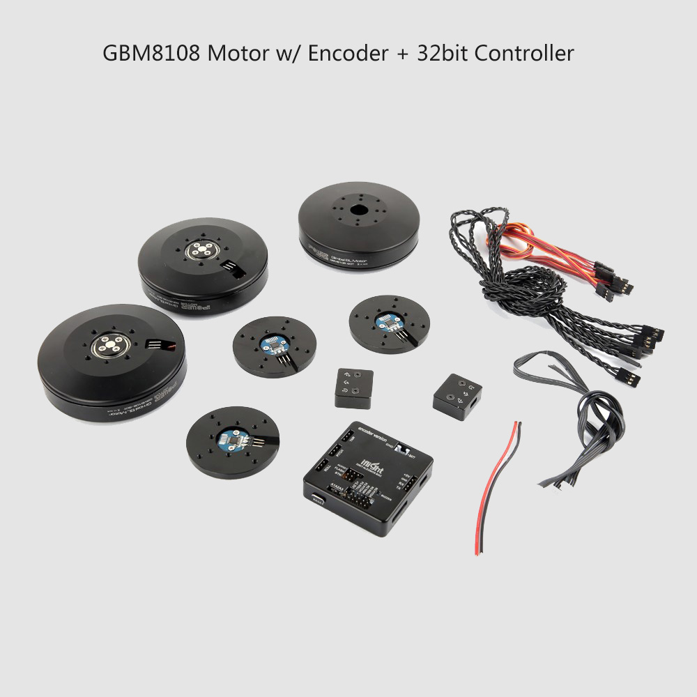 iPower Motor GBM8108 8108 w/ Simple BGC 32 bit Stabilization Control Encoder for Red Epic Brushless Gimbal handheld Steadicam