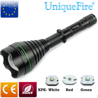 2016 Most Powerful UF 1508 Flashlight Zoom Function CREE XPE LED Drip In Pill Perfect Spot