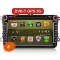 "Ctj ES9711V 8 ""Автомобиль DVD GPS Радио Bluetooth 3 Г ТВ для VW"