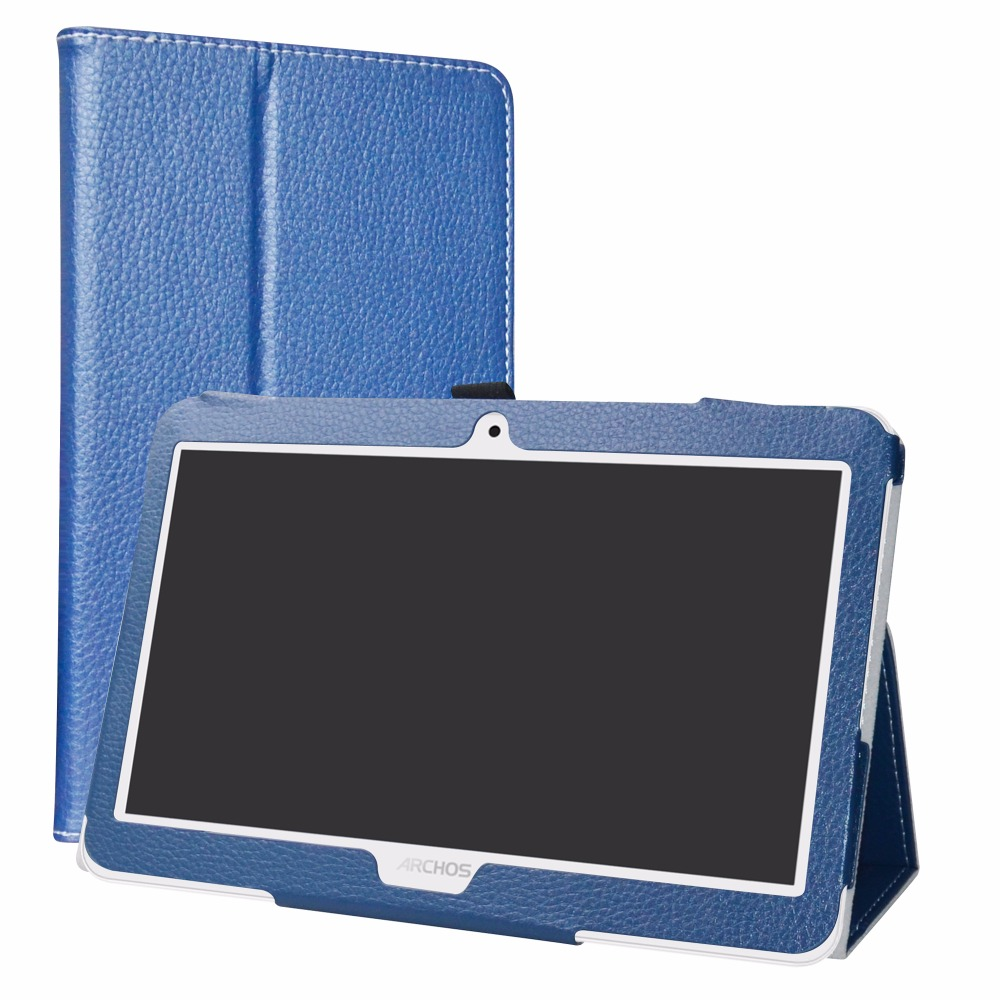 Tablet Case For 10.1 Archos Access 101 3G / Core 101 3G Folding Stand PU Leather cover with Magnetic closure archos core 70 3g