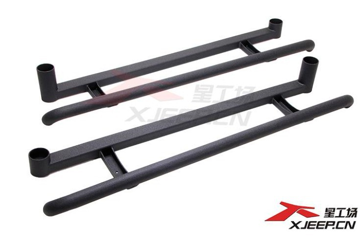 Side step, pedal, foot board, sport style for Suzuki Jimny, 4X4 offroad accessories