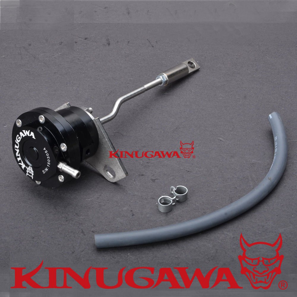 Kinugawa Adjustable Turbo Wastegate Actuator for TOYOTA 1KZ-T/TE 3.0 CT12B 17201-67010 1.0 bar / 14.7 Psi