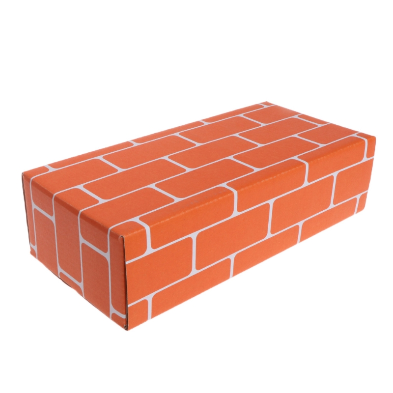 Paper Building Blocks Simulated Brick Kid Toy Building DIY Craft 3D Jigsaw Gifts