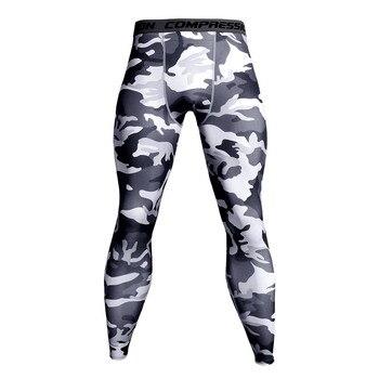 6388604e8 Compresión pantalones mallas para correr hombres entrenamiento Fitness  deportes polainas gimnasio Jogging pantalones de hombre ropa deportiva  Crossfit Yoga ...
