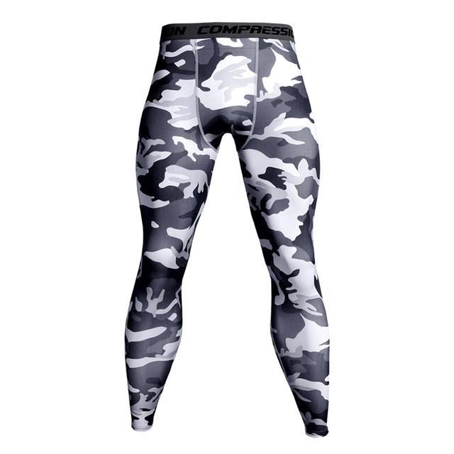 Pantalones de compresión para correr mallas de entrenamiento para hombre Leggings deportivos para gimnasio trotar pantalones ropa deportiva para hombre Crossfit pantalones de Yoga