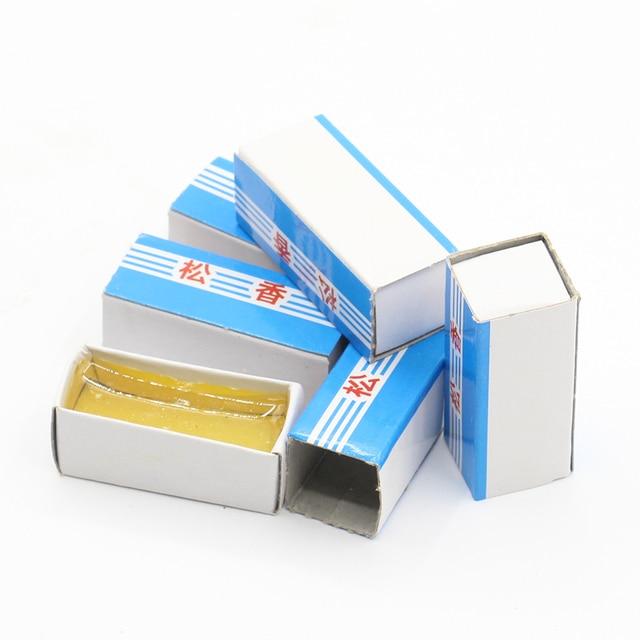 5 шт./лот, высокое качество, коробка, канифоль для пайки, мягкий припой, сварочные флюсы для паяльника