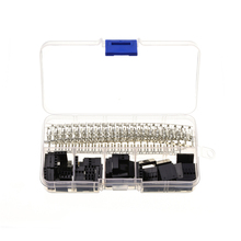 345pcs 2 54mm Terminals Wire Cable Jumper Pin Header Connector Housing Kit Male Crimp Pins Female_220x220 compare prices on crimp housing online shopping buy low price wire harness housing crimp terminal header connectors at eliteediting.co