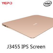 YEPO 737A Laptop 13.3 inch Ultrabook Gaming Laptops IPS Intel Celeron J3455 Notebook Computer With 6GB RAM 64GB 128GB 256GB SSD(China)